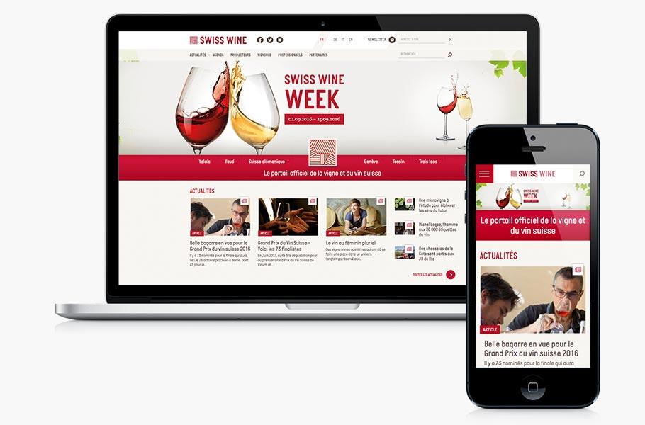 composition site Swiss Wine Week