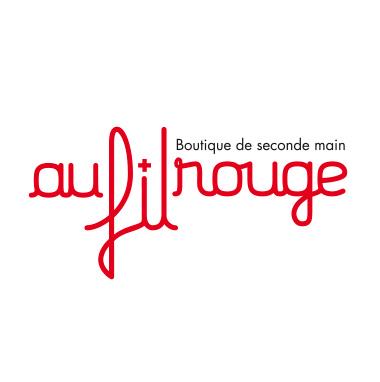 logo Au fil rouge boutique de seconde main de la Croix-Rouge vaudoise à Aigle
