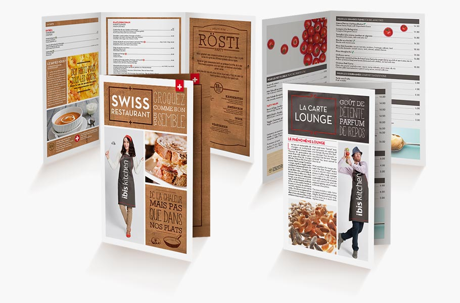 Ibis-menus