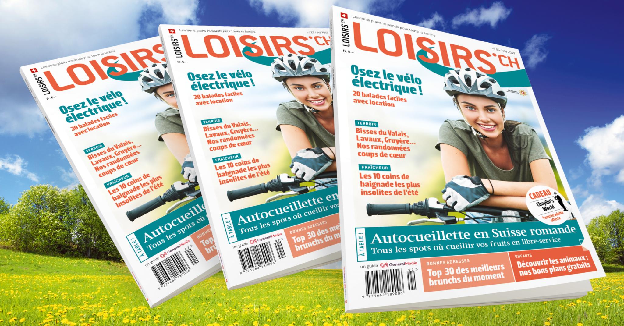 Le Mag Loisirs – Eté 2019